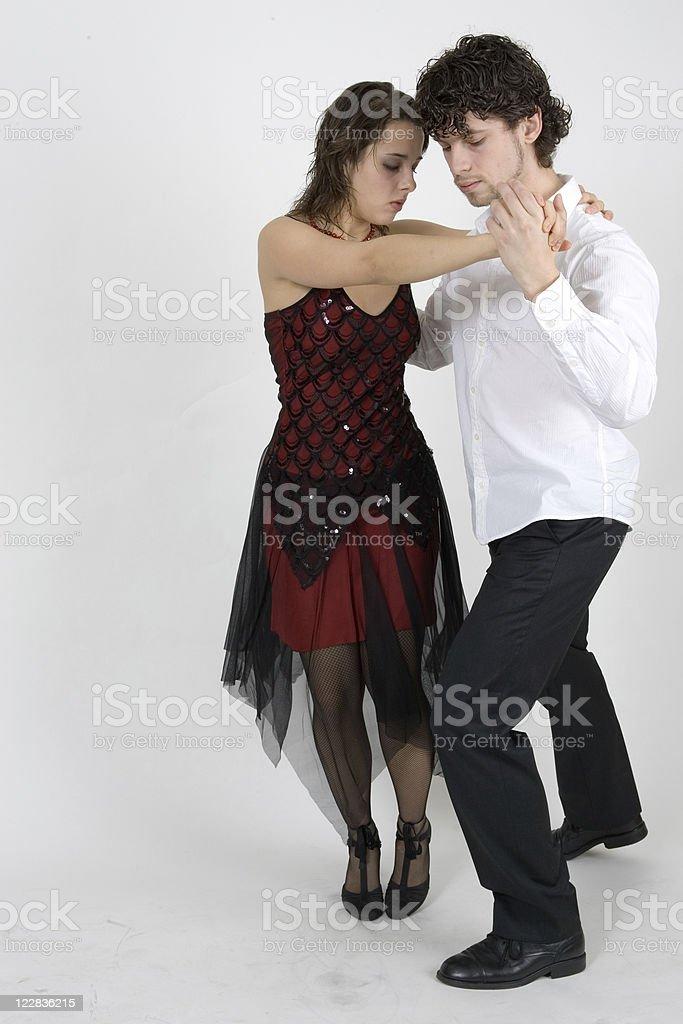 tango turn royalty-free stock photo