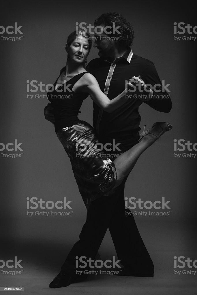Tango-the seduction dance royalty-free stock photo