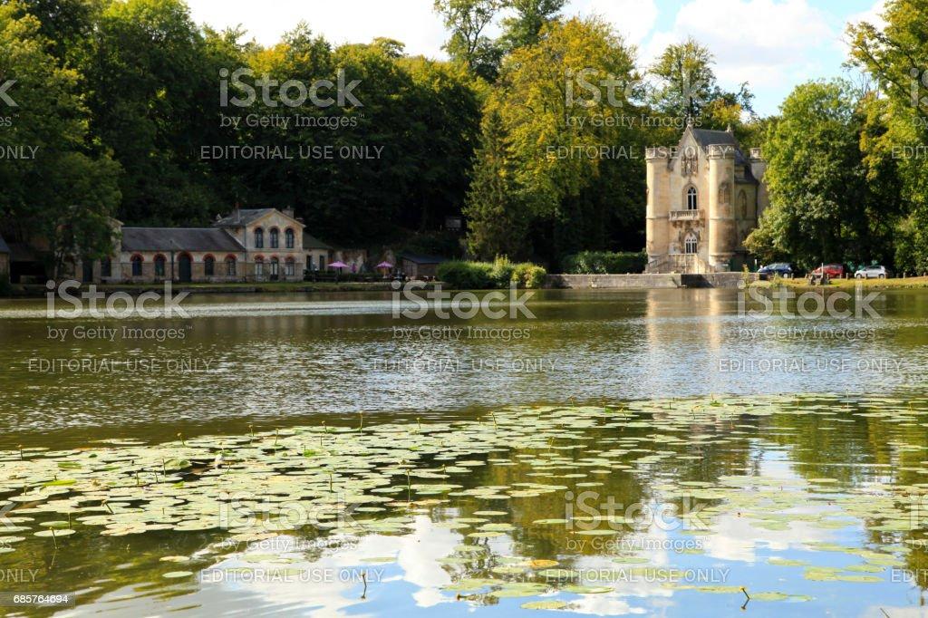 Étangs de Commelles in Oise zbiór zdjęć royalty-free
