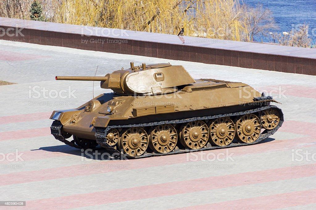 Tank Т-34 stock photo