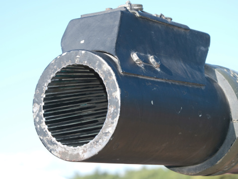 The business end of a Tank Barrel