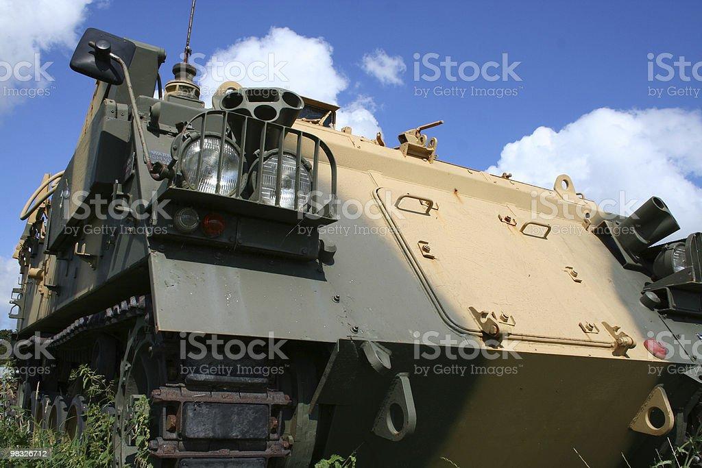 tank blue sky royalty-free stock photo