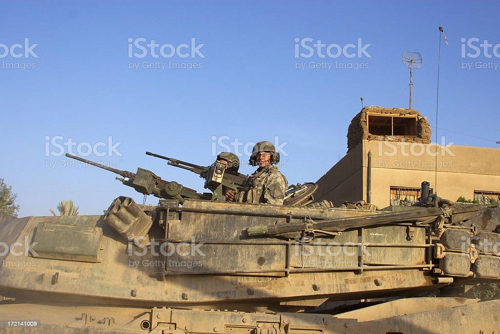 Tank Crew stock photo