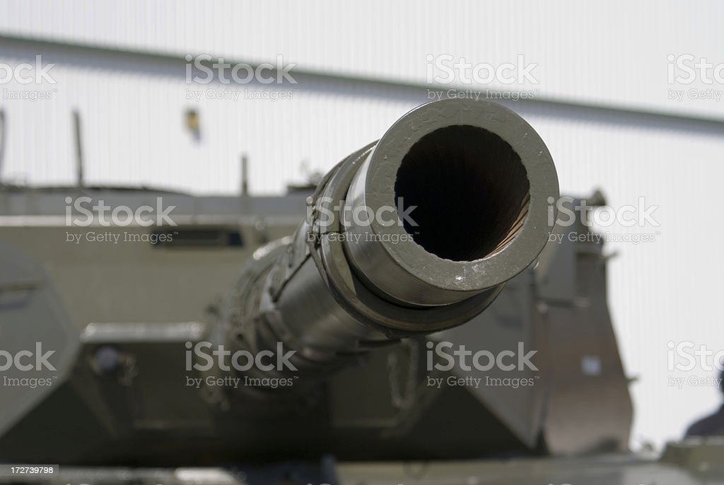 Tank Gun royalty-free stock photo