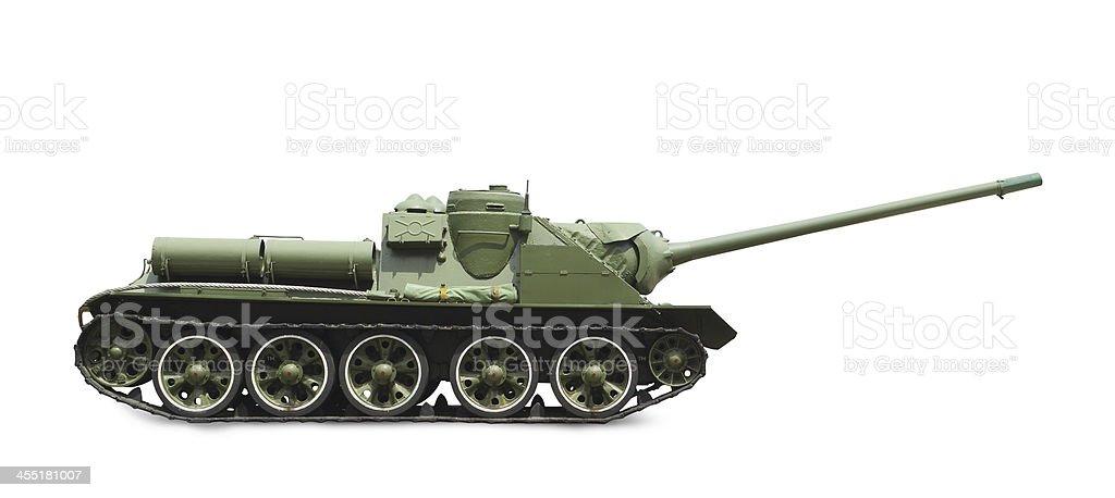 Tank made soviet union stock photo
