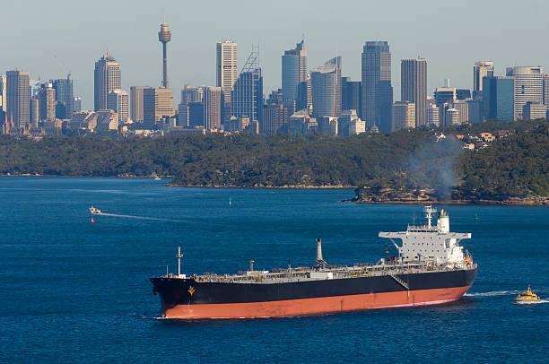 Tanker leaves Sydney harbour