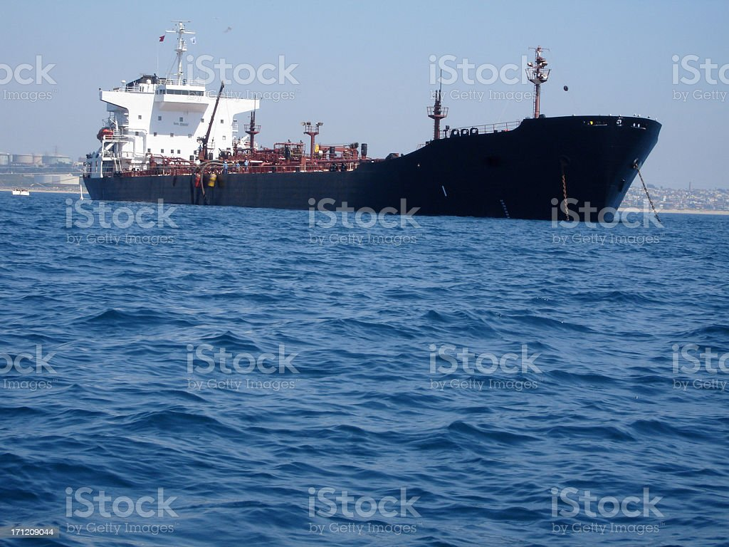 Tanker of Oil royalty-free stock photo