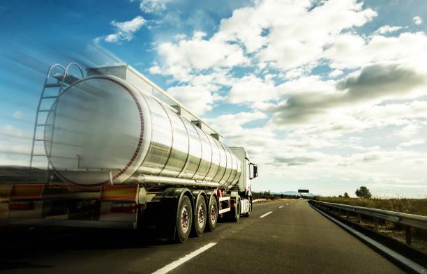 Tanker stock photo