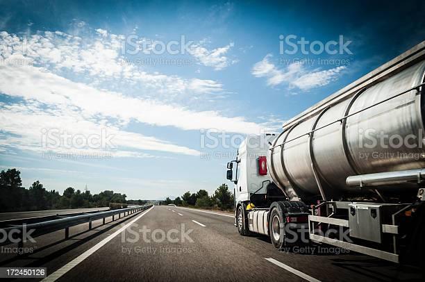 Tanker Truck Stockfoto und mehr Bilder von Autotransporter