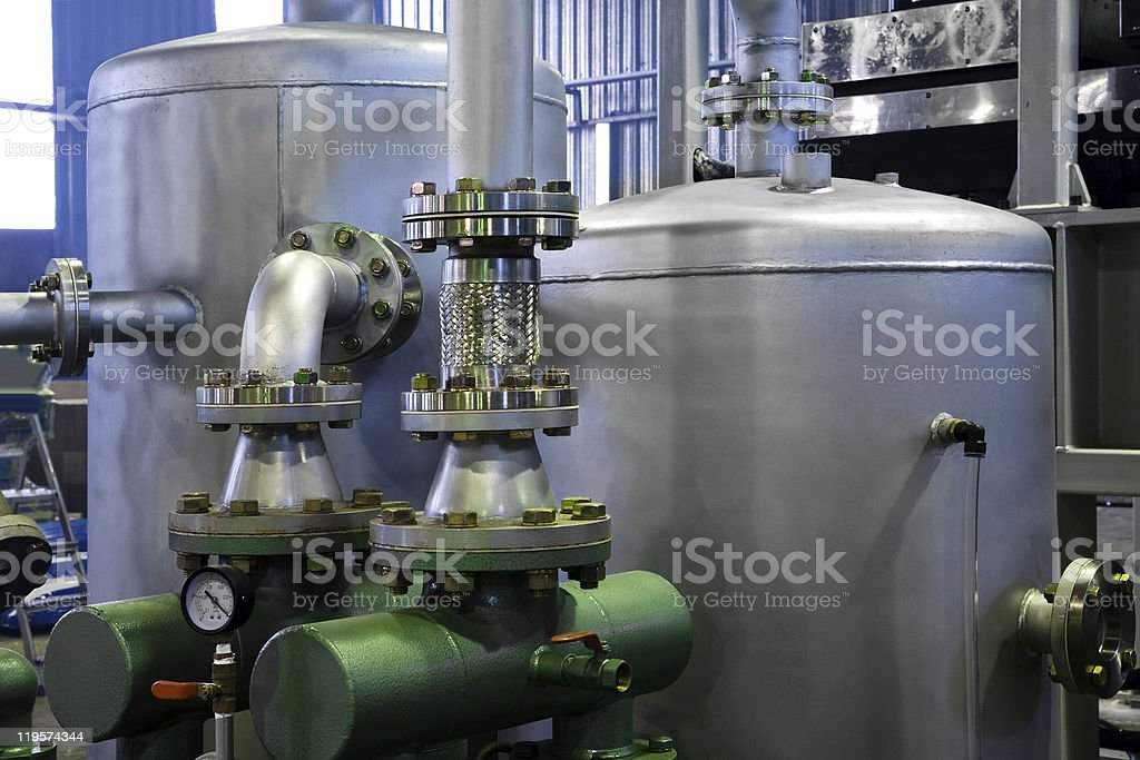 tanks and pumps royalty-free stock photo