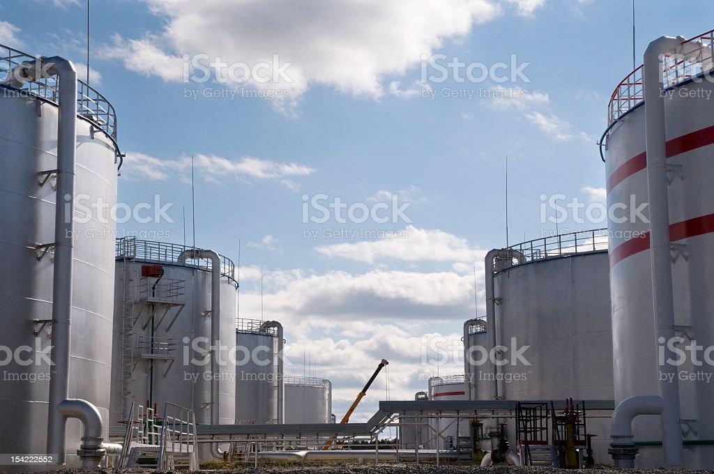 Tanks. royalty-free stock photo
