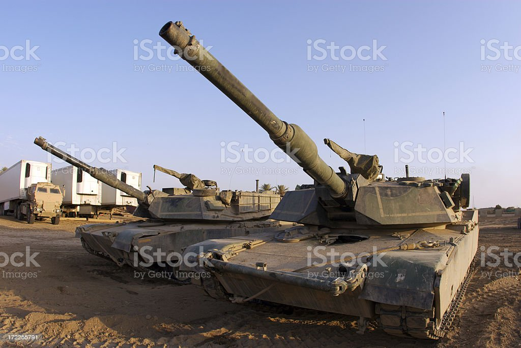 Tanks royalty-free stock photo