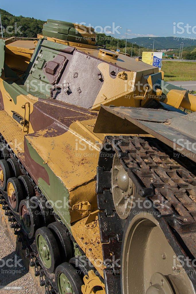 tanks stock photo