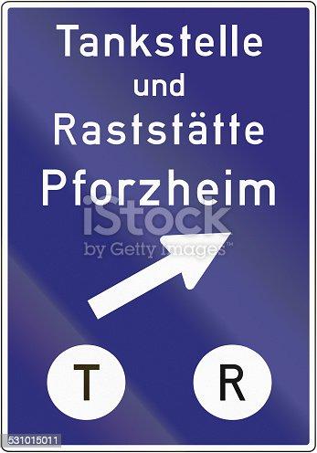 521911567 istock photo Tankstelle und Raststaette Pforzheim 531015011