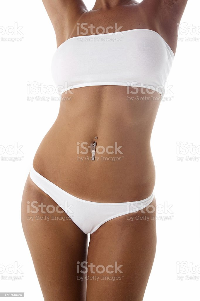 Tanned Girl stock photo