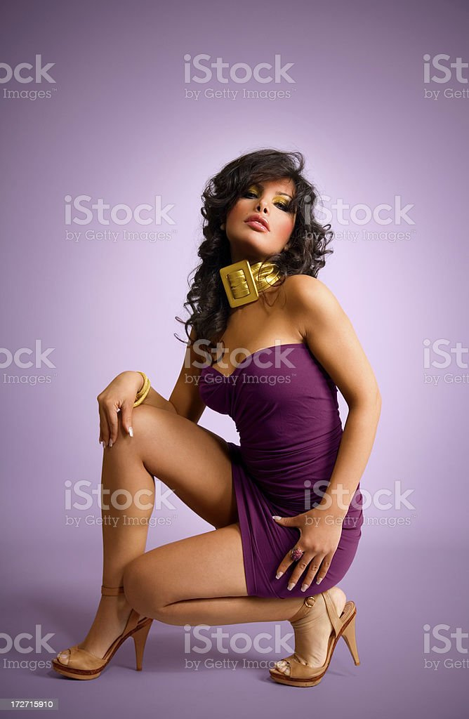 Tanned Girl royalty-free stock photo