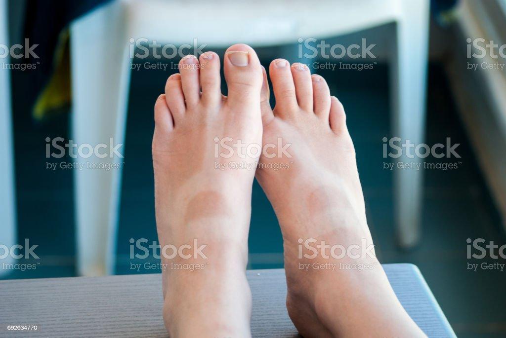 Tanné des jambes - Photo