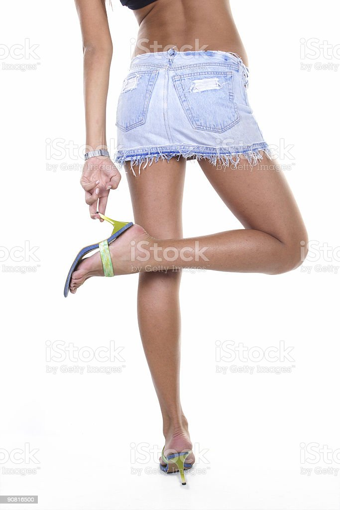 tanned stock photo