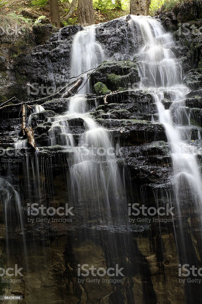 Tannery Falls royalty-free stock photo