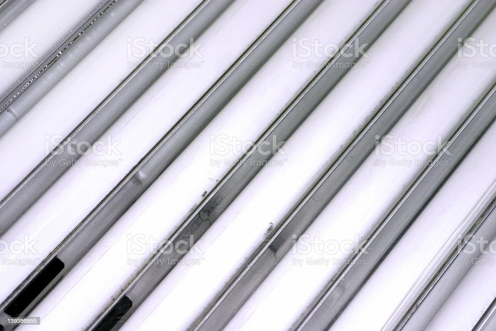 Tanning Bulbs royalty-free stock photo