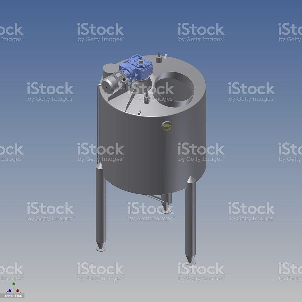 Tanque de mezcla stock photo