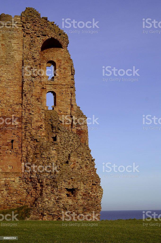Tantallon castillo foto de stock libre de derechos