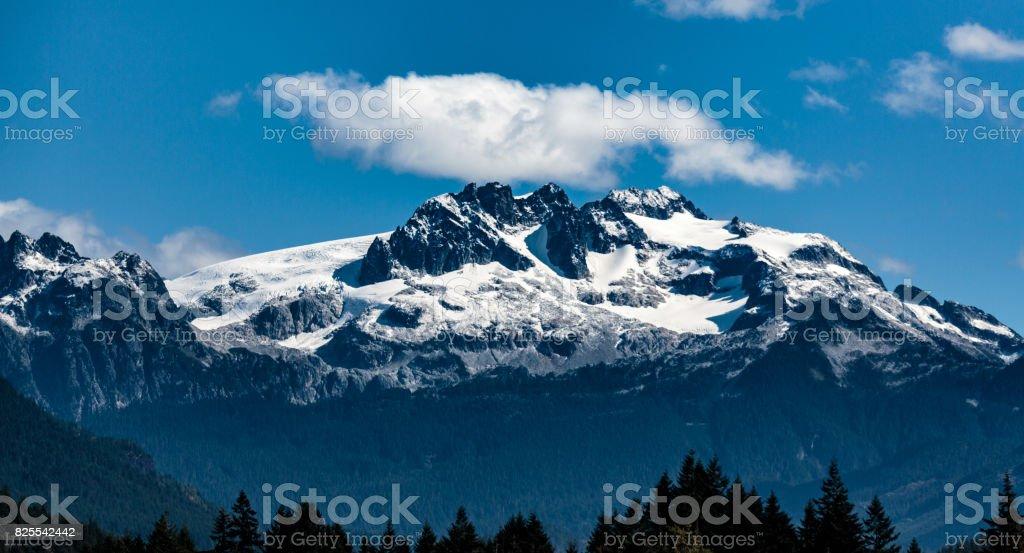 Tantalus Peaks Canada stock photo