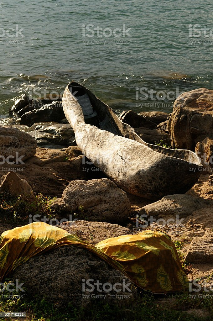 Tanzania, lake Malawi stock photo