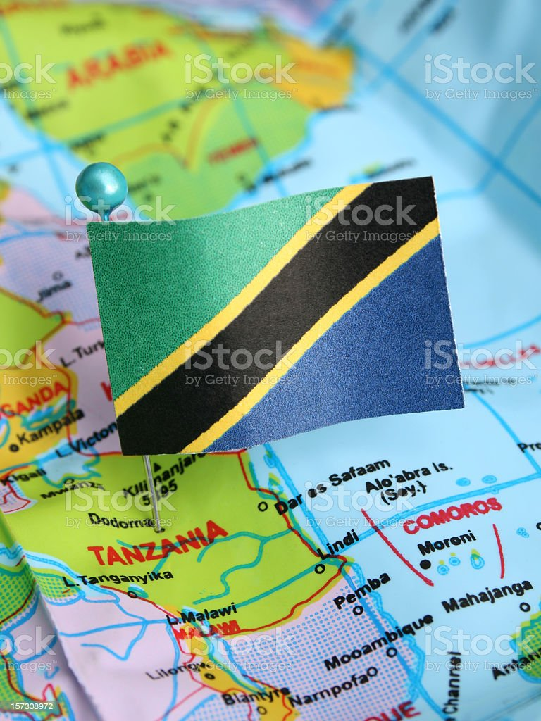 Tanzania royalty-free stock photo