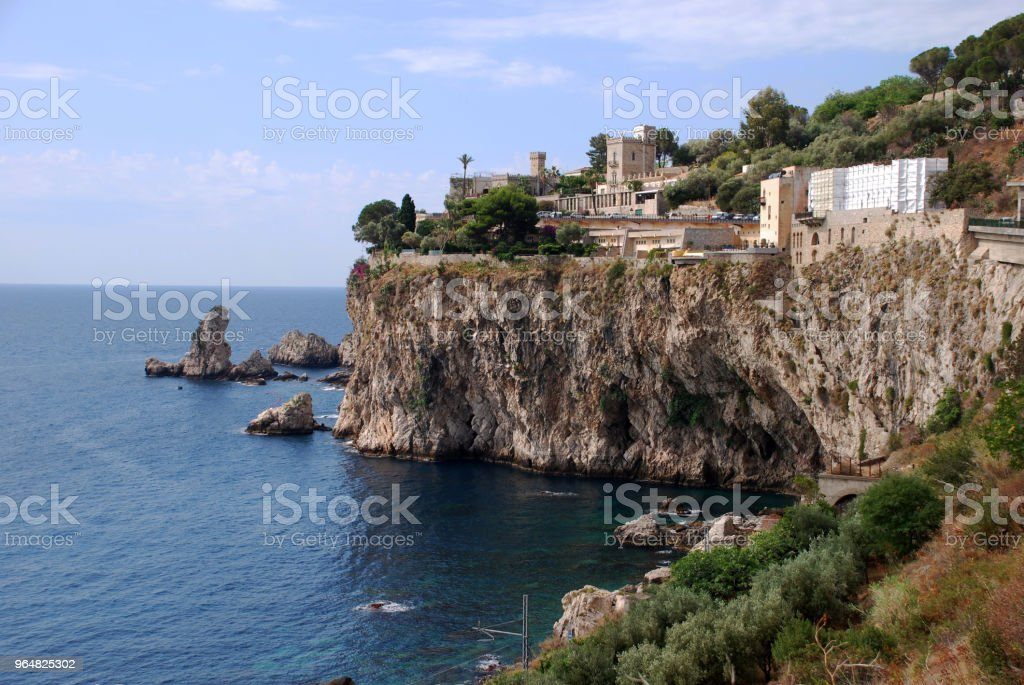 Taormina royalty-free stock photo