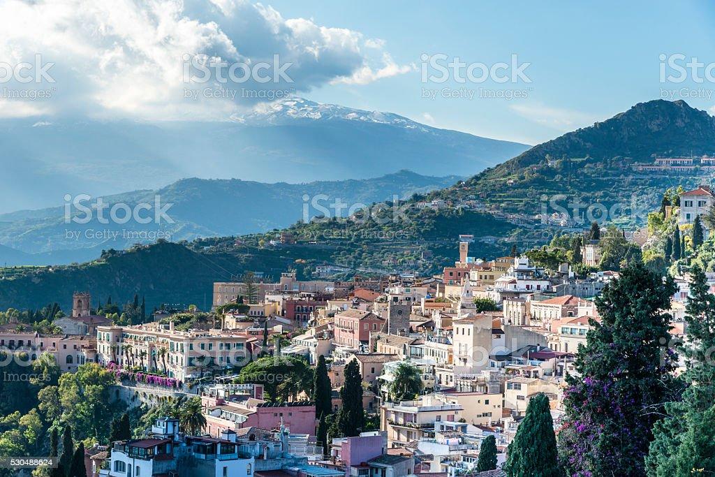 Taormina. Sicily. Italy. stock photo