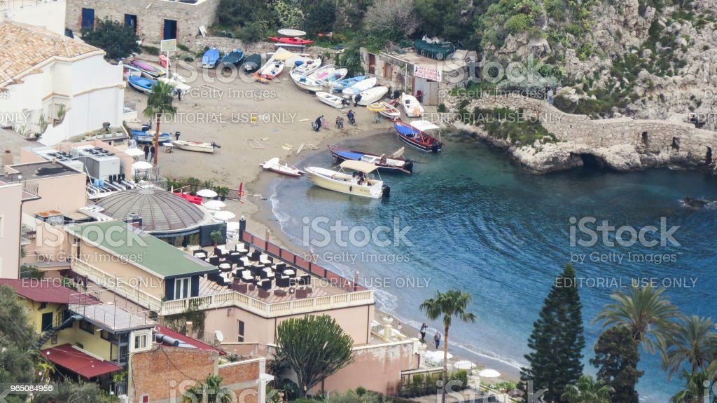 Taormina, Sicily, Italy royalty-free stock photo