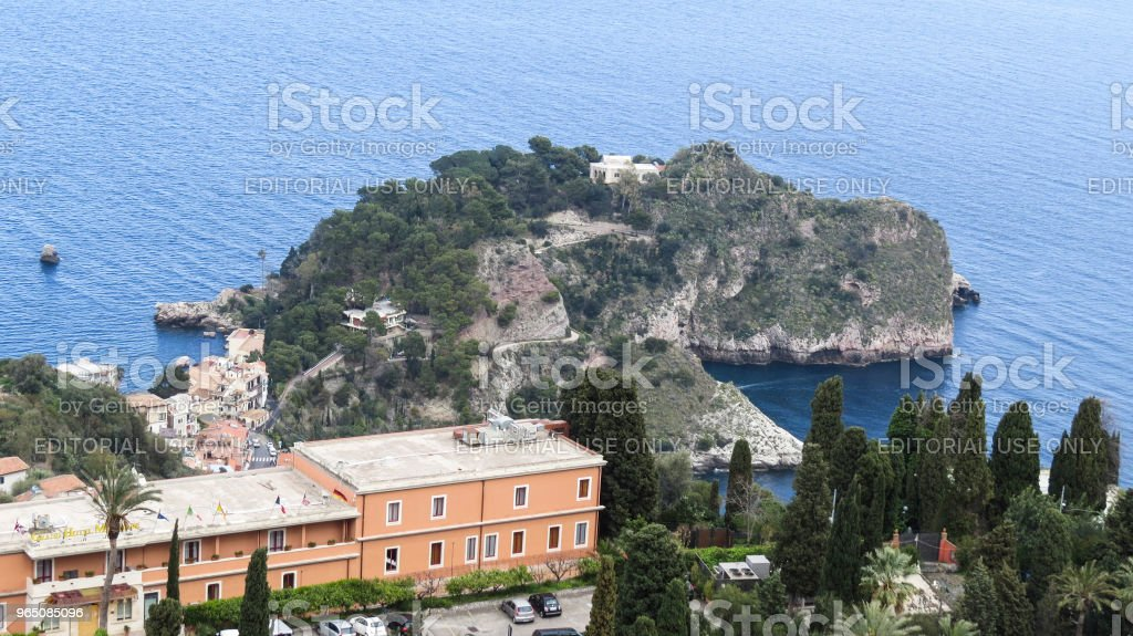 Taormina, Sicily, Italy royalty-free stock photo