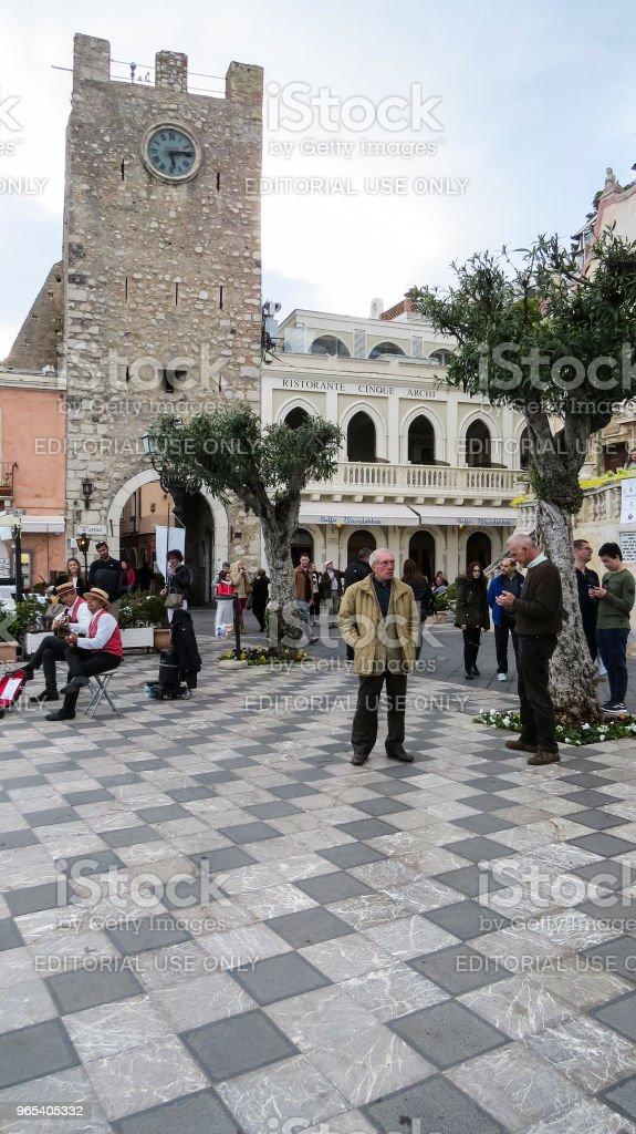 陶爾米納,西西里島,義大利 - 免版稅Noto - Sicily圖庫照片
