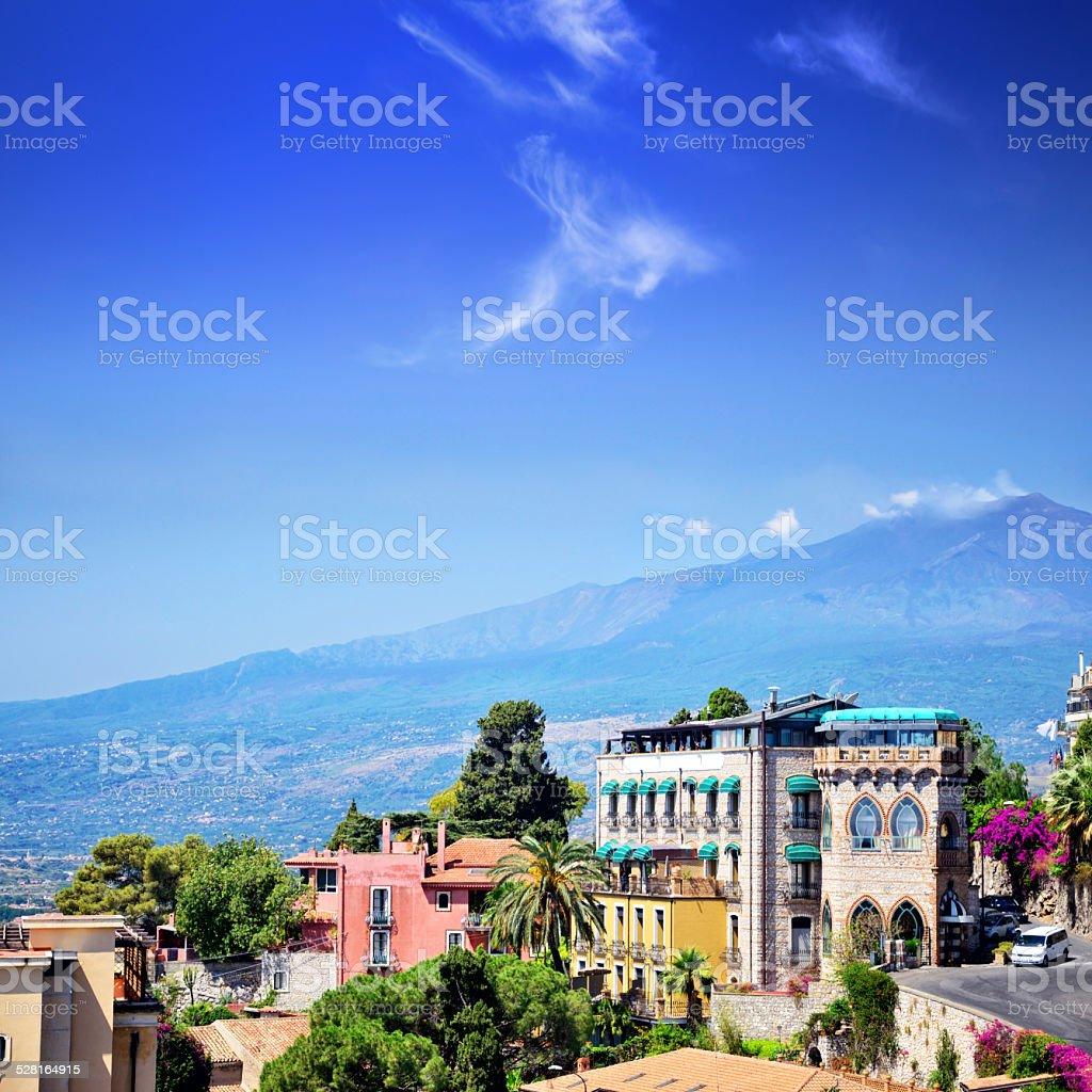 Taormina, Sicily stock photo