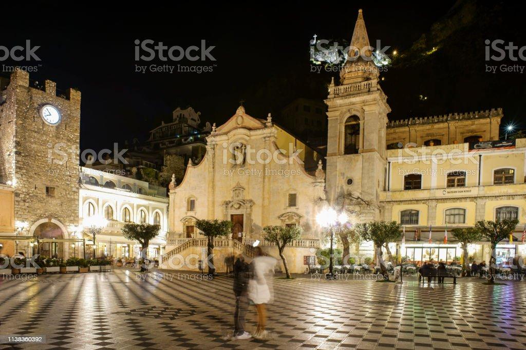Taormina es Piazza IX Aprile – Foto