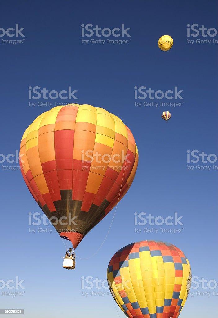 Taos balloon festival royaltyfri bildbanksbilder