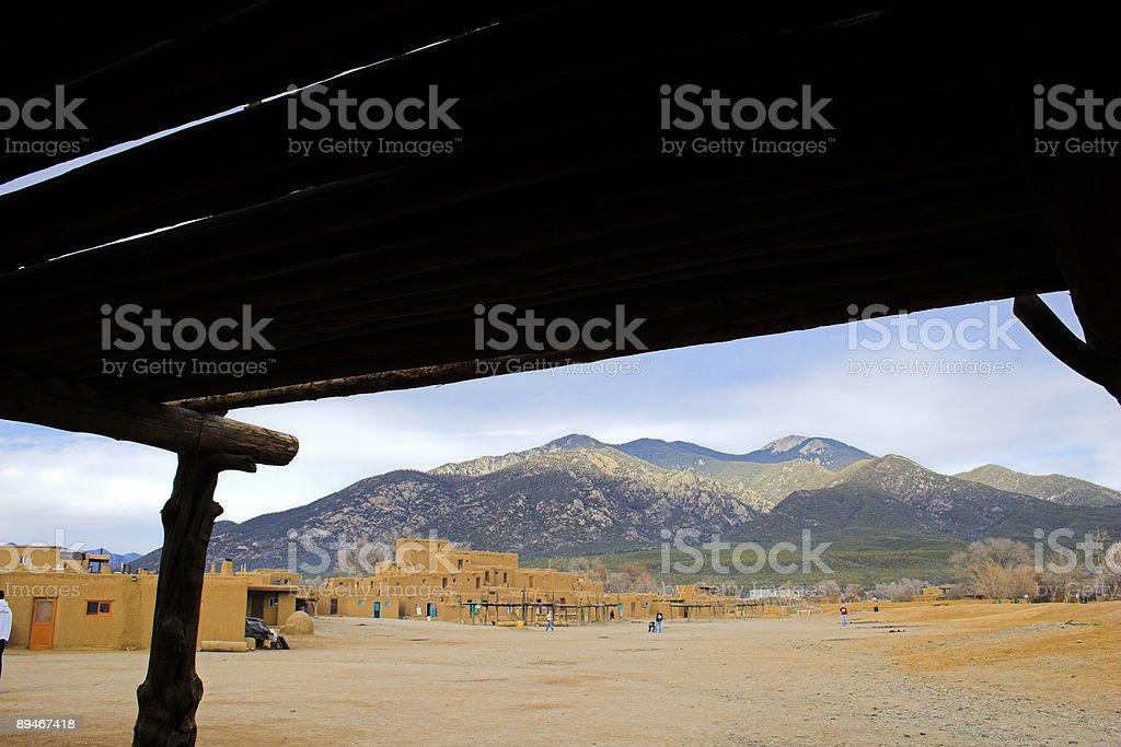 Taos royalty-free stock photo