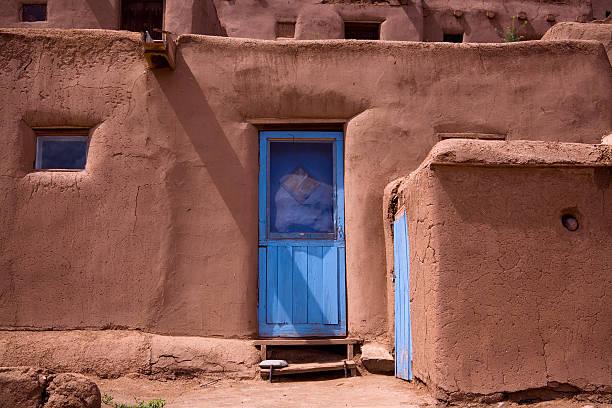 Taos Pueblo Adobe stock photo