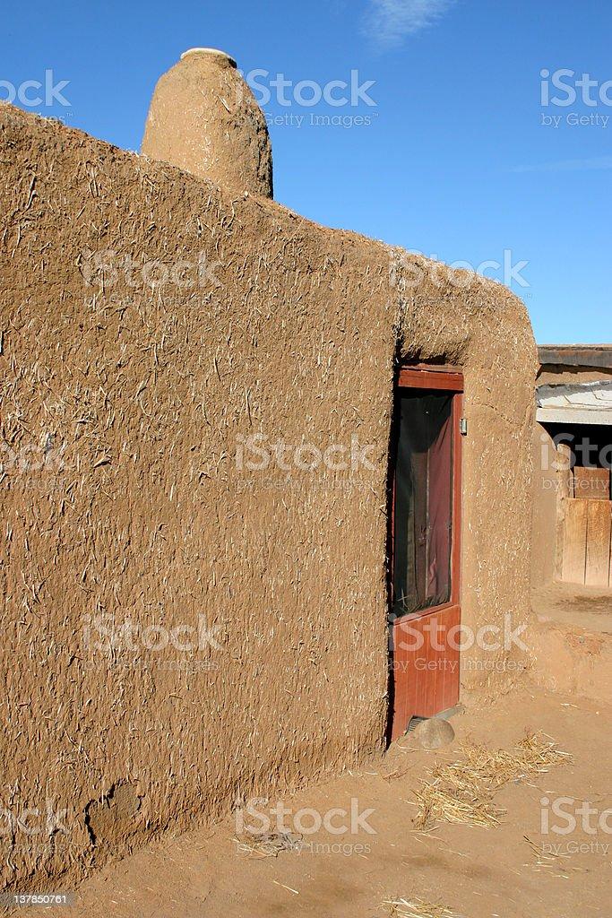 Taos Pueblo royalty-free stock photo