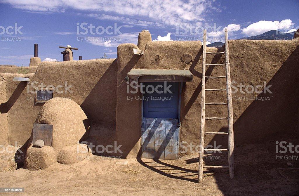 Taos Pueblos stock photo
