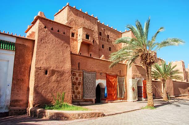taourirt kasbah in ouarzazate - kasbah bildbanksfoton och bilder