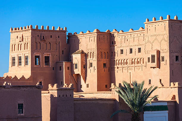 taourirt kasbah, ouarzazate - kasbah bildbanksfoton och bilder
