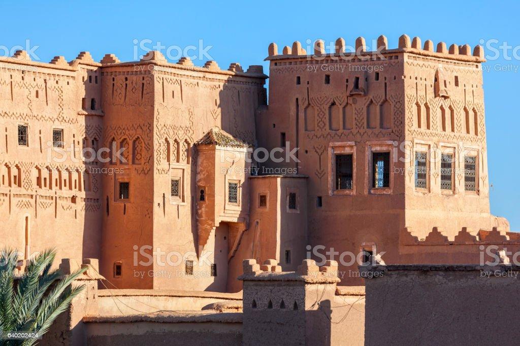 Taourirt Kasbah, Ouarzazate stock photo