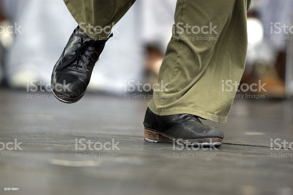 Tap dance 1 royalty-free stock photo