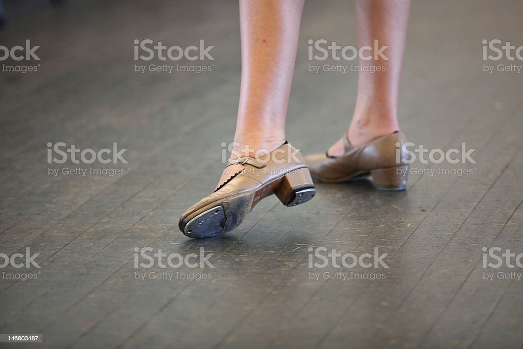 Tap Dance Shoes stock photo