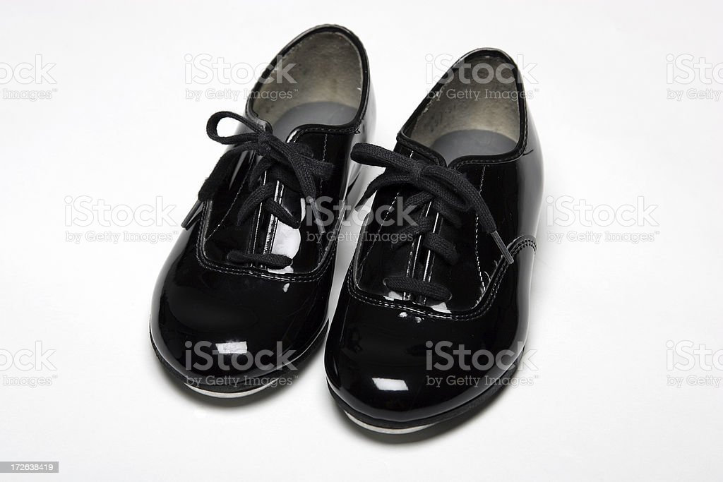 Tap Shoes 0001 royalty-free stock photo
