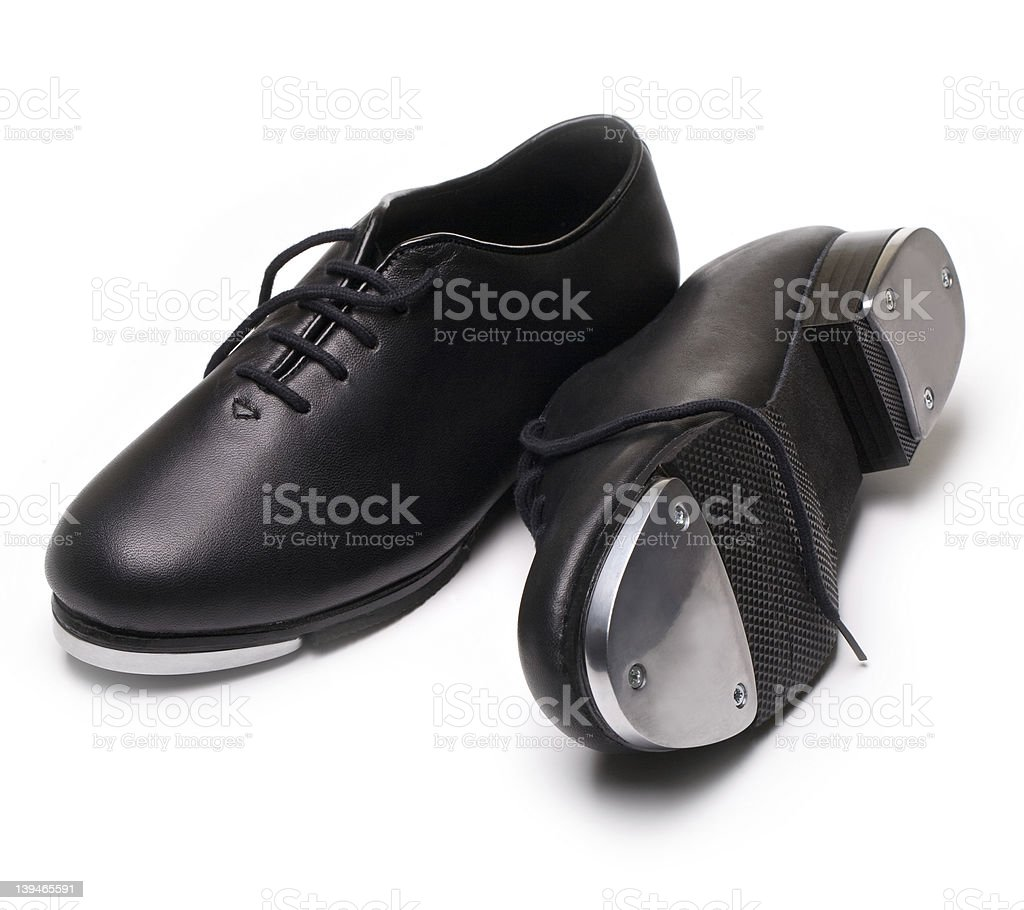 tap shoes stock photo