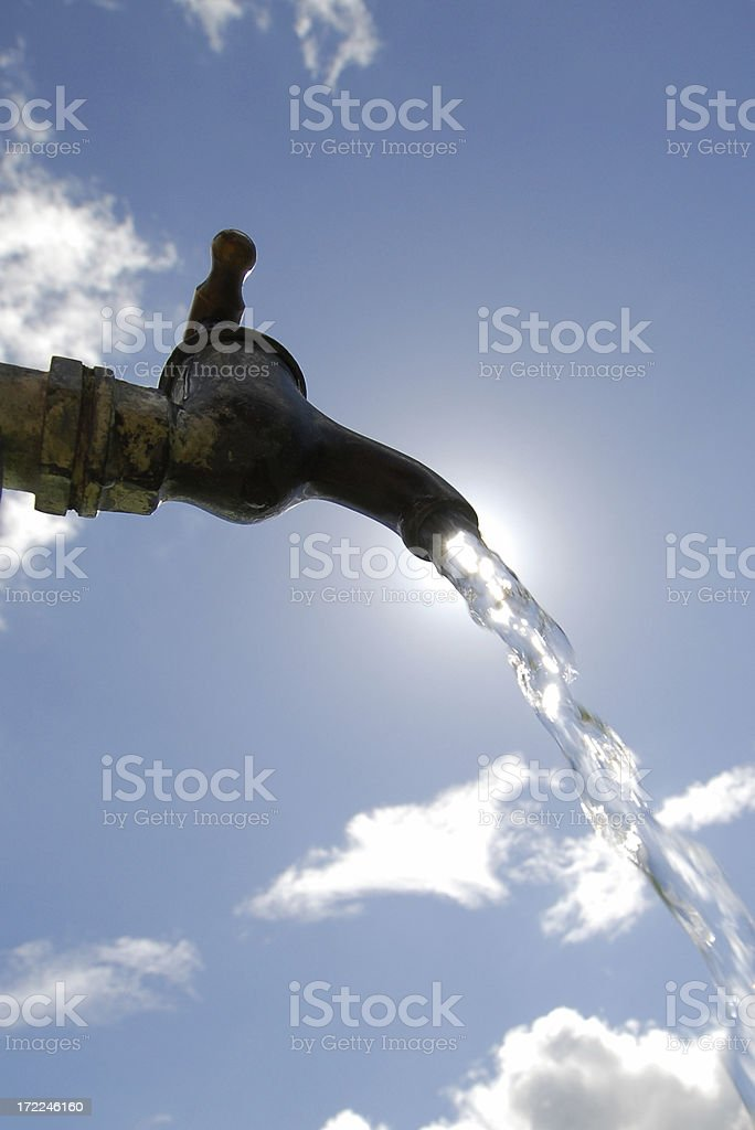 Tap Water #1 royalty-free stock photo