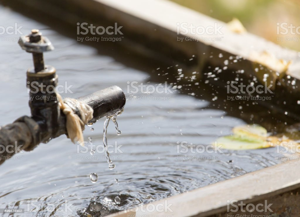 tap water stock photo